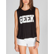 FULL TILT Geek Womens Flyaway Tank