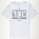 KR3W Hard Time Mens T-Shirt