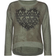 FULL TILT Tribal Heart Girls Hi Low Sweatshirt