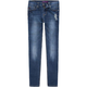 VIGOSS Destructed Girls Skinny Jeans