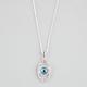 FULL TILT Evil Eye Necklace