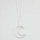 FULL TILT Open Moon Necklace