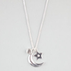 FULL TILT Star & Moon Charm Necklace