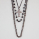 FULL TILT 3 Row Cross Necklace