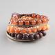 FULL TILT 6 Piece Rose Bead Bracelets