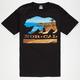 NOR CAL Beach Bear Mens T-Shirt