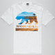 NOR CAL Beach Bear Mens T-Shirt