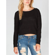 FULL TILT Womens Crop Sweater