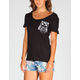 WORKSHOP Owl Pocket Womens Tee