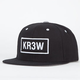 KR3W Seed Patch Mens Snapback Hat