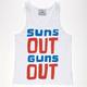 WELLEN Suns Out Guns Out Mens Tank