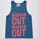 WELLEN Suns Out Guns Out Mens Tank