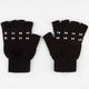 Pyramid Stud Fingerless Gloves