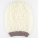 Two Tone Double Layer Beanie