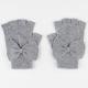 Bow Fingerless Gloves