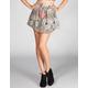 SPOON JEANS Pinwheel Print Skater Skirt
