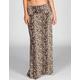FULL TILT Leopard Print Maxi Skirt