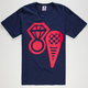 ICECREAM Cone & Ice Mens T-Shirt