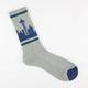 SKYLINE SOCKS Seattle Mens Crew Socks