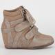 DE BLOSSOM Thunder Womens Sneaker Wedges