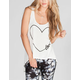FULL TILT Love Womens Hi Low Tank
