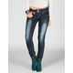 ALMOST FAMOUS Double Button Women Skinny Jeans