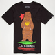 FATAL Gold Bear Mens T-Shirt