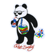 RIOT SOCIETY Panda Bubbles Sticker