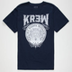 KR3W Medallion Mens T-Shirt