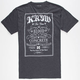 KR3W Label Mens T-Shirt