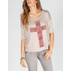 LIRA Cross Womens Tee