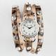 JESSIE CARLYLE Rhinestone Wrap Watch