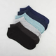 6 Pack Heathered No-Show Socks
