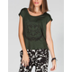 LIRA Serenity Womens Open Back Hi Low Tee