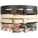 Three Piece Skinny Belts