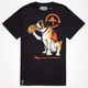 LRG Bernard The Drunk Mens T-Shirt