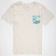 RIP CURL Discovery Mens Pocket Tee