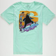 MOWGLI SURF Hang On Mens T-Shirt