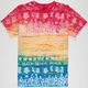 MOWGLI SURF Beach Fun Mens Pocket Tee