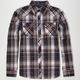BURNSIDE Plaid Mens Shirt