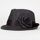 Flower Straw Womens Fedora