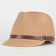 Straw Womens Military Hat