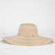 Metallic Stripe Womens Floppy Hat
