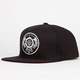 US VERSUS THEM Black Scale Clandestina Mens Snapback Hat