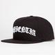 US VERSUS THEM Black Scale Sapientia Mens Snapback Hat