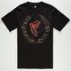 FAMOUS STARS & STRAPS Camo BOH Wreath Mens T-Shirt