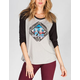 LRG Combustion Womens Baseball Tee