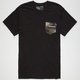 VANS Cabazon Mens Pocket Tee
