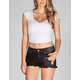 BOZZOLO Bow Womens Crop Tee