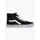 VANS Sk8-Hi Black & White Shoes